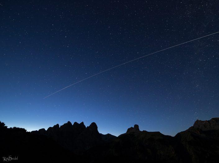 ISS fotografieren