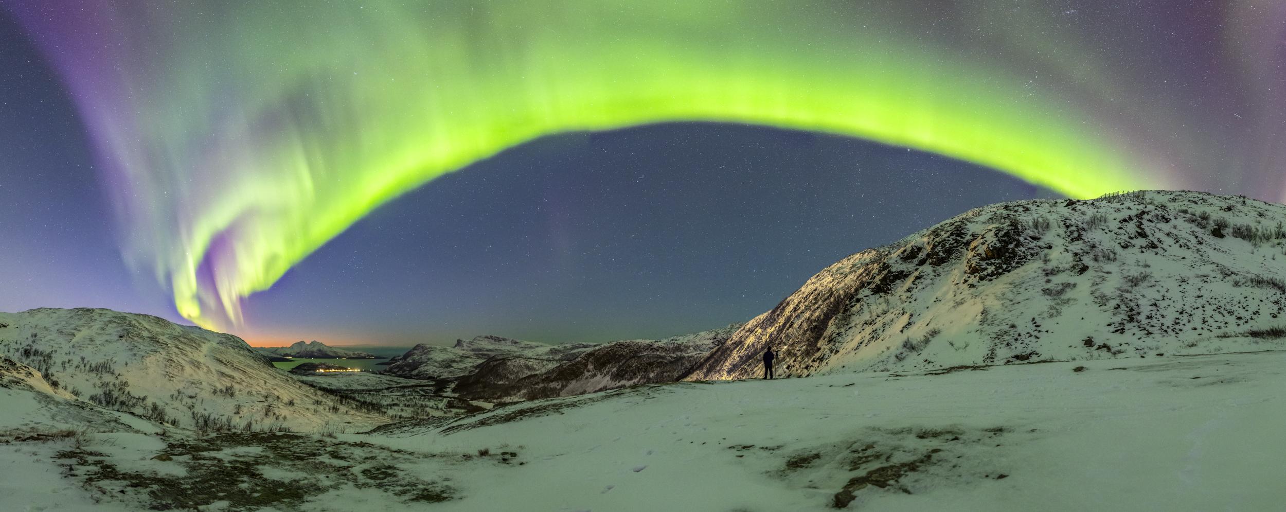 Polarlicht-Norwegen